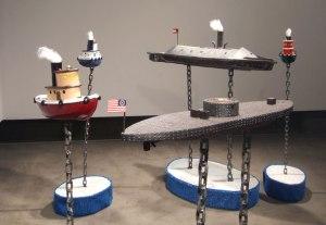 Ceramic, Chain, Wood, Astroturf, Nautical Charts