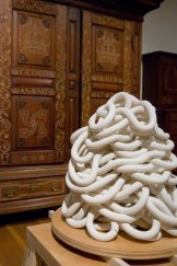 Installed at the Philadelphia Museum of ArtCeramic, wood