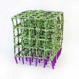 "Priya Thoresen, ""Green cube"""