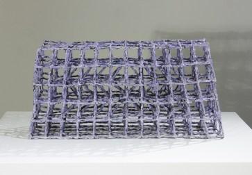 "Priya Thoresen, ""Purple weave"""