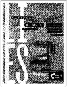 LIES - exhibition poster