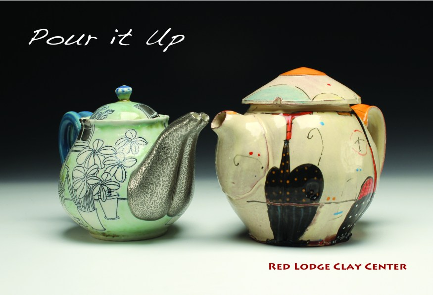 Julia Galloway and Bede Clarke teapots