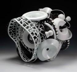 """11/2011, Porcelain, 20x24x19"""""""