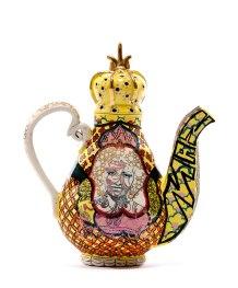 "Roberto Lugo, ""Basquiat-Celia Cruz Teapot"""