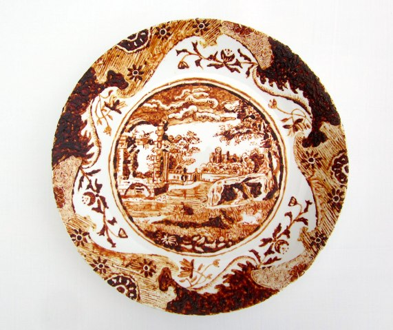 """Rory MacDonald, """"Dirty plates (after Spode)"""""""
