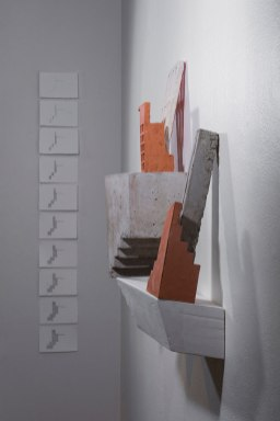 "paper, graphite, 2017, each 5"" x 4"""