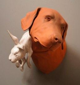 """Ceramic, 14""""x14""""x11"""", 2014"""