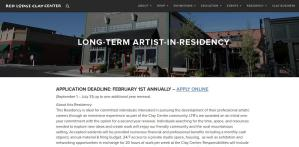 Red Lodge Clay Center website screenshot