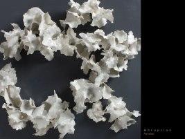 Porcelain, 6.25''x 23.5''x 21'', 2012