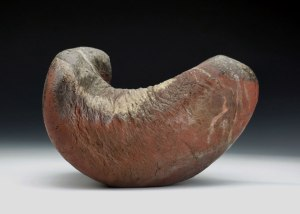 """10"""" x 7"""" x 7"""", Wood Fired Stoneware, Reduction Cooled"""