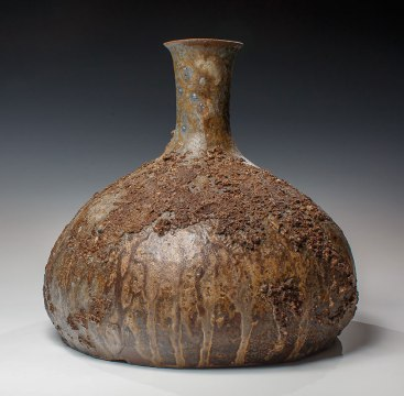"Wood Fired Stoneware, 2013, 10""x10""x10"""