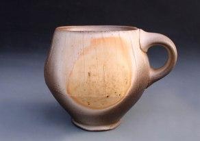"4"" x 3.5"" x 3.5"", Wood-fired Porcelain"