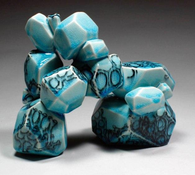 2014, ceramic, underglaze transfers, 10x7x5