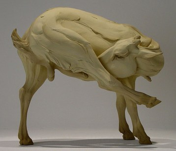 "The Fallacy of Virtuosity, 12""h x 13.5""w x 9""d, 2006, stoneware"