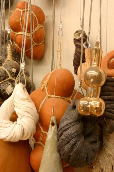 Ceramic, Rope, Steel, Cable, 2007