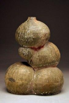 Untitled Vessel, 2014, glazed stoneware, multiple