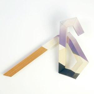2017, ceramic and wood, 17 x 14 x 6