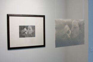 "Digital print on archival paper & translucent porcelain, paper and frame 26x22"" porcelain 12x10"", 2011"