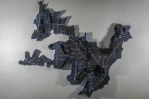 """33x36x6"""", ceramic, 2012"""