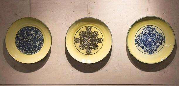 """23"""" Diameter (Each), Wheel thrown Porcelain, 2018"""