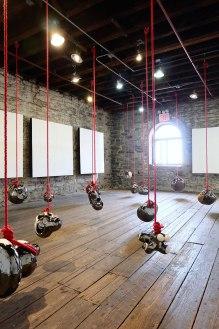 "Yuko Nishikawa, The installation view of ""The Largest Crop"""