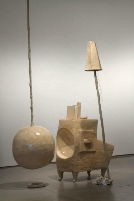 Constructing Comfort, 2012, Glazed Stoneware, Books