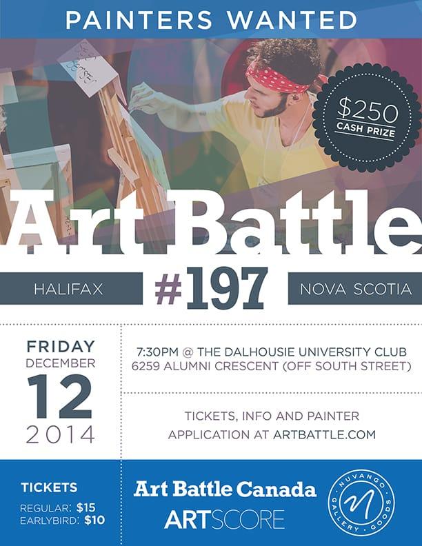 Art Battle 197-Halifax