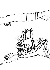 линия в детском рисунке, диагностика детского рисунка, психология детского рисунка, сильный нажим, прерывистая линия, толщина линии в детском рисунке