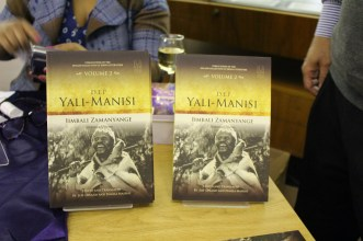 Volume 2 on display. Both volumes can be purchased from Bargain Books nationwide.