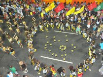 Olodum perform in a Salvador carnival in 2011