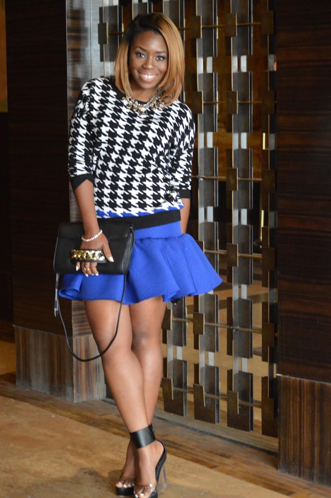 pretty haute asos ovoid skirt