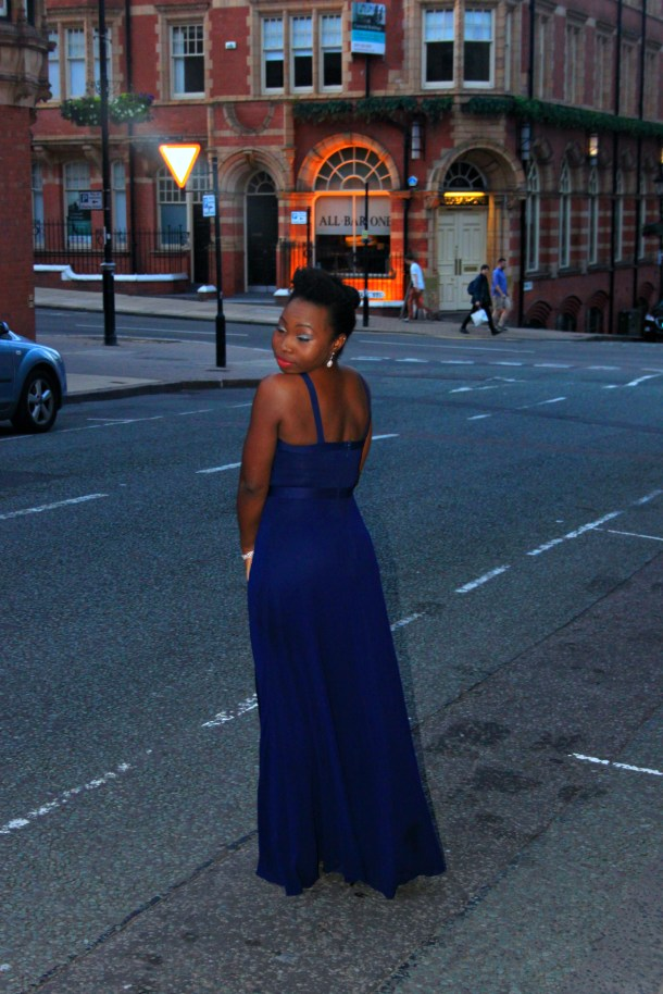 lipsy blue maxi dress bandage
