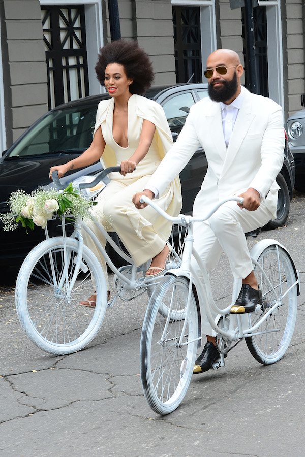 Solange Knowles marries Alan Ferguson! **USA ONLY**