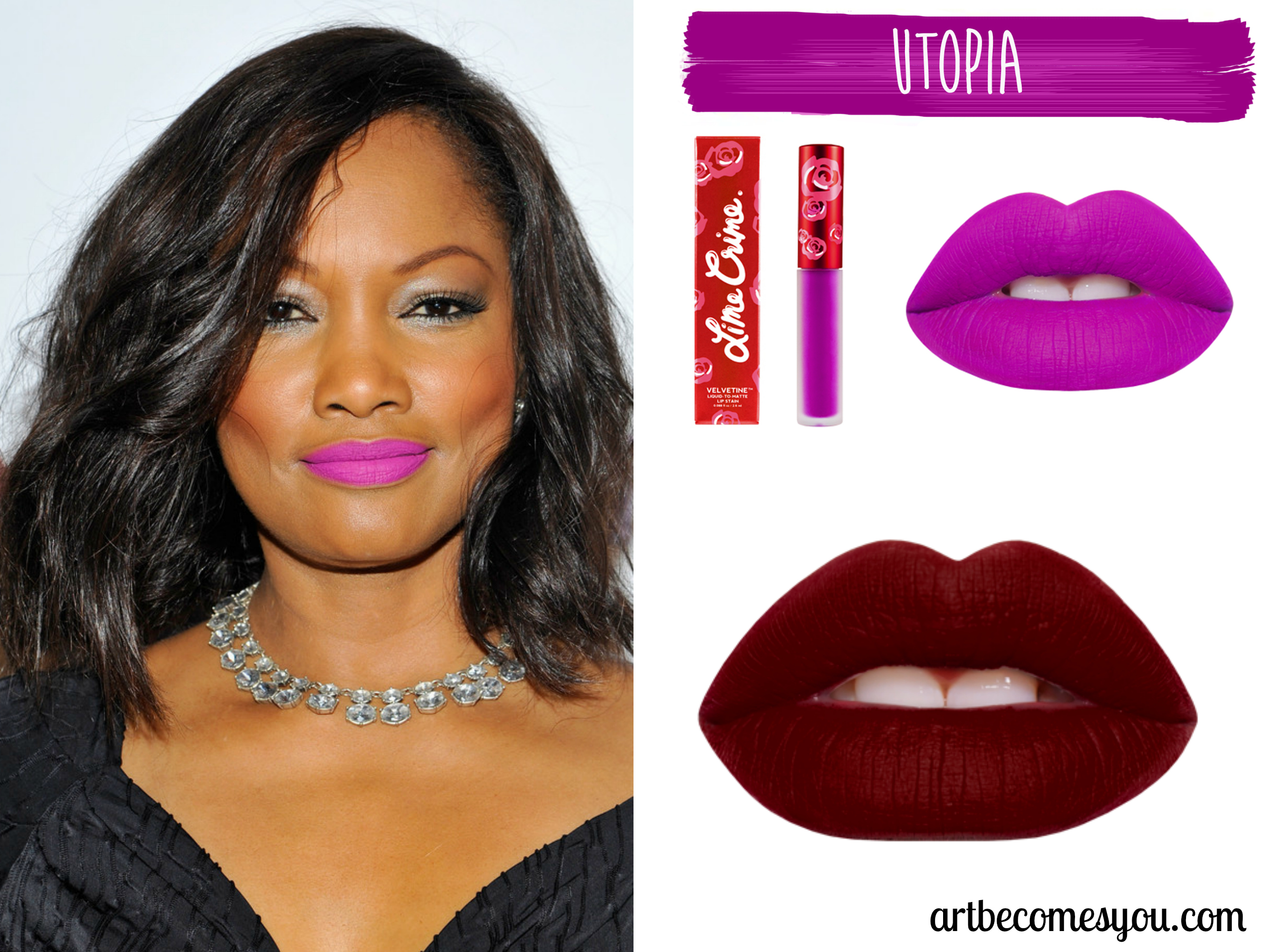 Beauty Must Have Lime Crime Velvetines Lip Stain Art Becomes You All Shade Utopia