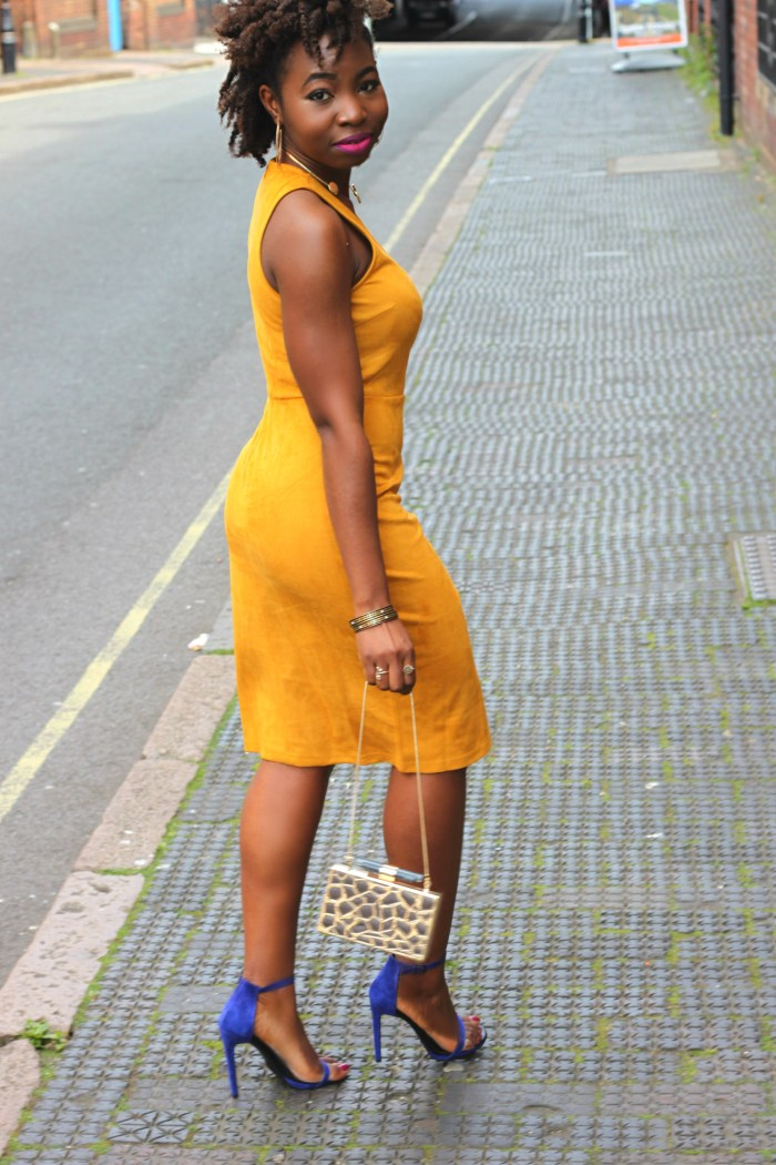suede dress missguided