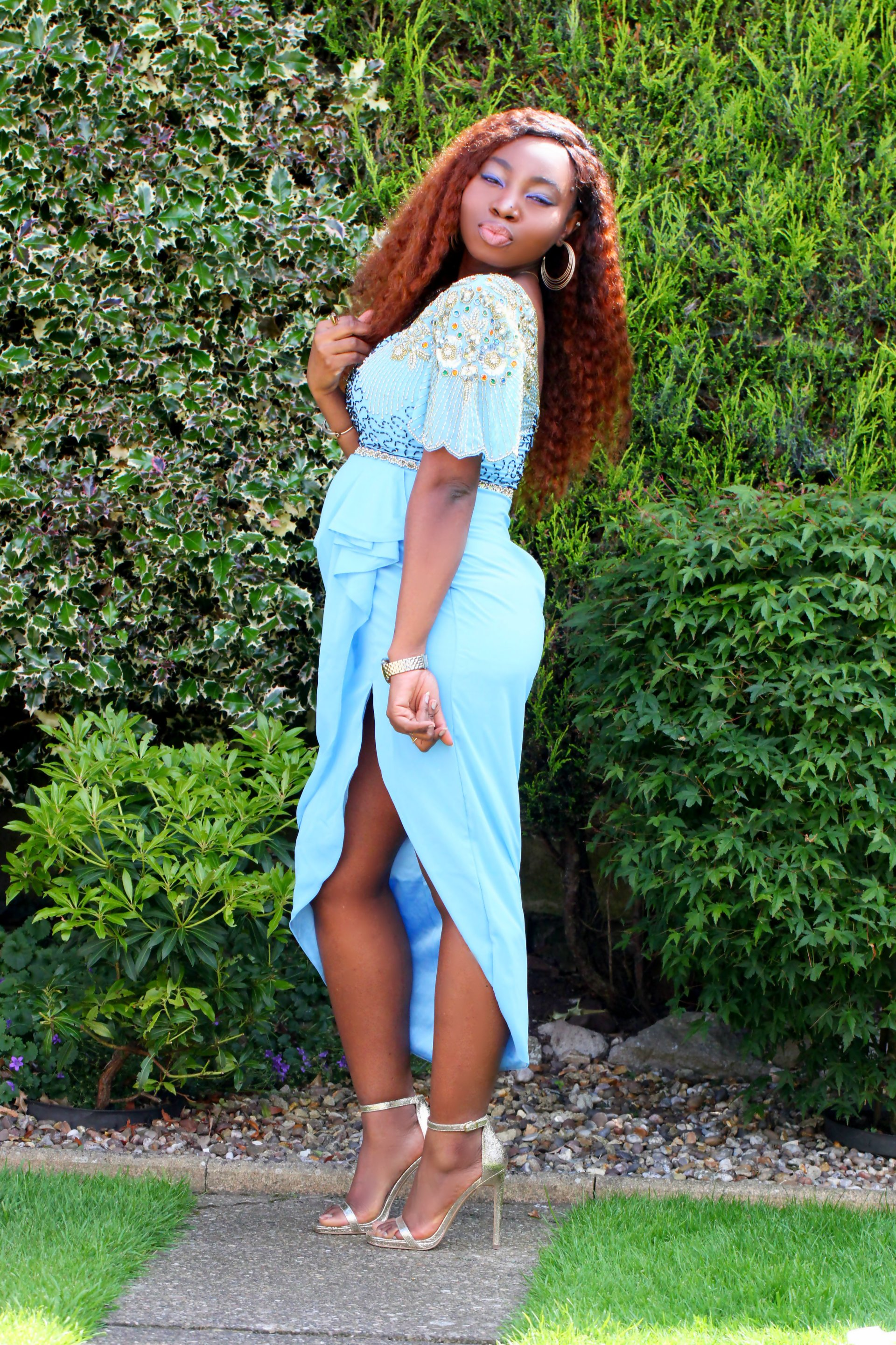 laila virgos lounge dress outfit blog octer shopping a