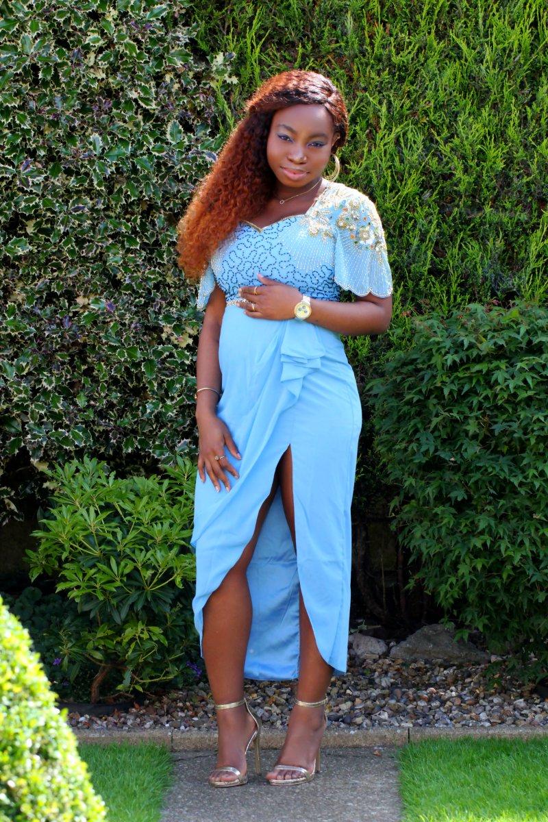 laila virgos lounge embellished dress blogger a