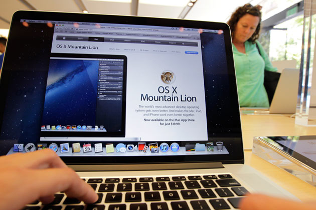 Apple rend disponible OS X Mountain Lion (10.8) au téléchargement ! 1