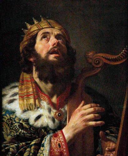 """Résultat de recherche d'images pour """"portraits du roi David jouant de la harpe la nuit, à sa fenêtre"""""""
