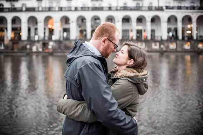 Jungfernstieg, Hamburg, Verlobung, Foto, Fotograf, Hochzeitsfotograf, Engagement, Shooting