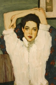 Brunette Girl – Girl In White Blouse, 1953