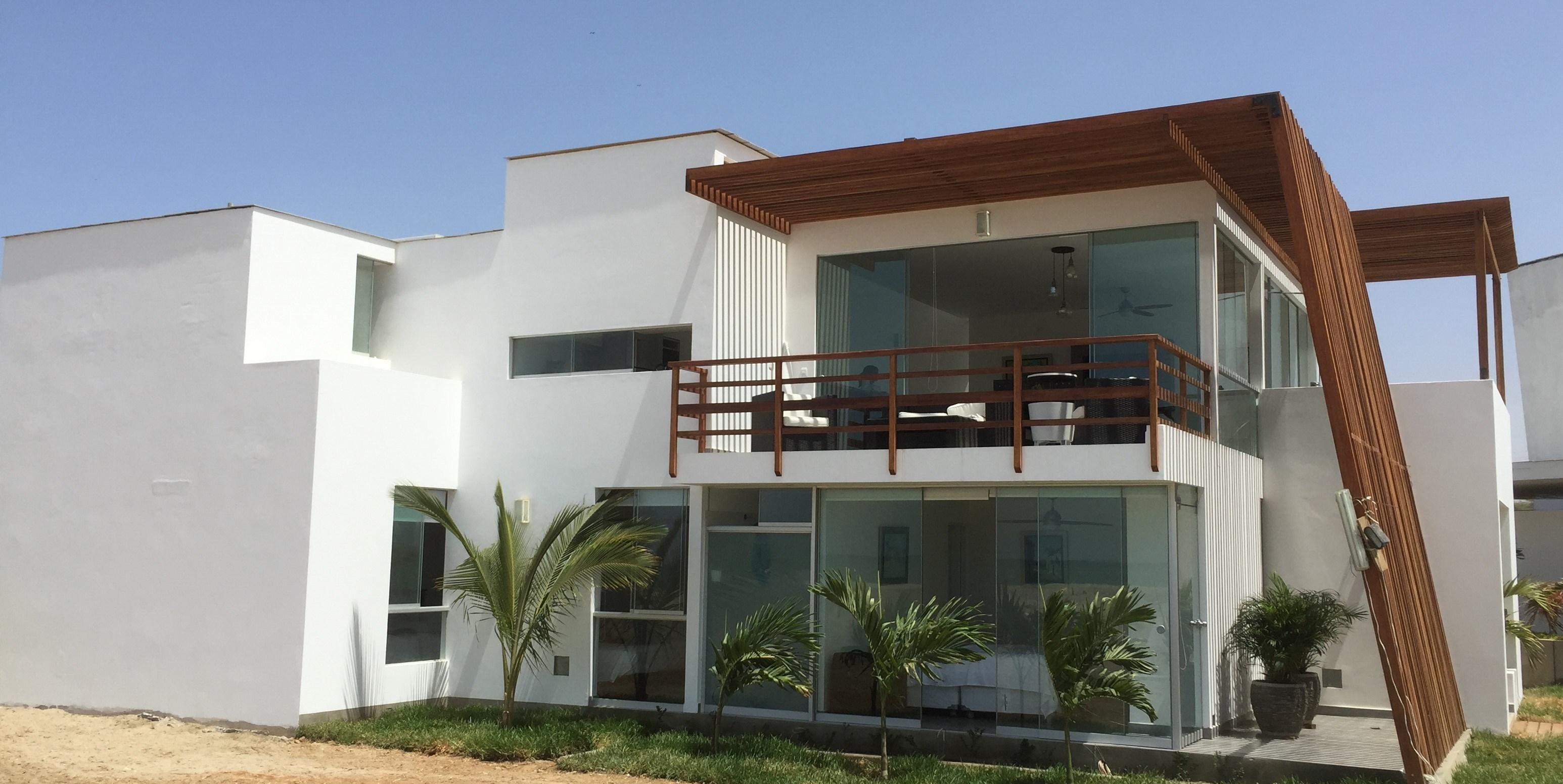 Fachadas De Casa De Dos Pisos Con Terraza Novocom Top