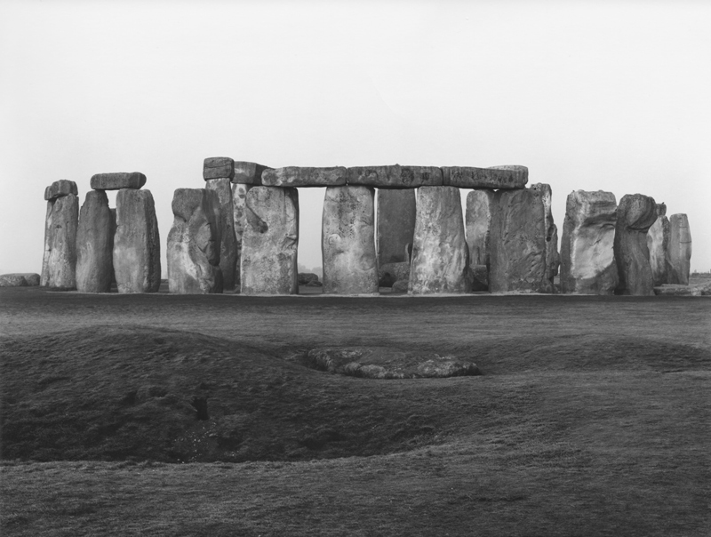 Paul Caponigro (b. 1932), Stonehenge, 1967, gelatin silver print. © Paul Caponigro, photo courtesy of The Huntington Library, Art Collections, and Botanical Gardens.