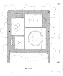 Figure 3. Playground, Zaanhof, plan.