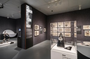 Installation view of Revolution of the Eye: Modern Art and the Birth of American Television, May 1, 2015 –  September 20, 2015. © The Jewish Museum, NY.  Photo by: David Heald