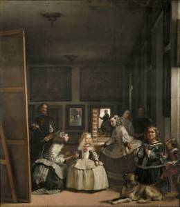 Diego Velázquez, Las Meninas, or The Family of Felipe IV ca. 1656. Oil on canvas