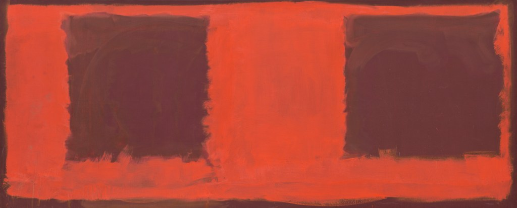 Rothko - Untitled (Seagram Mural sketch), 1959