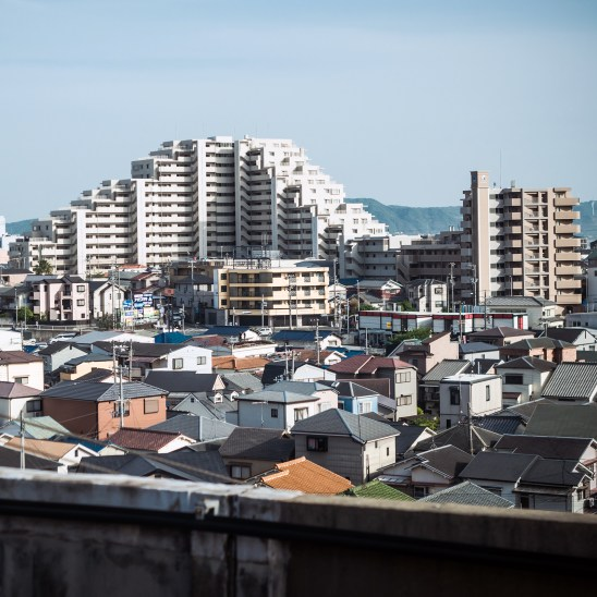 From the Bullet train between Osaka and Tokyo