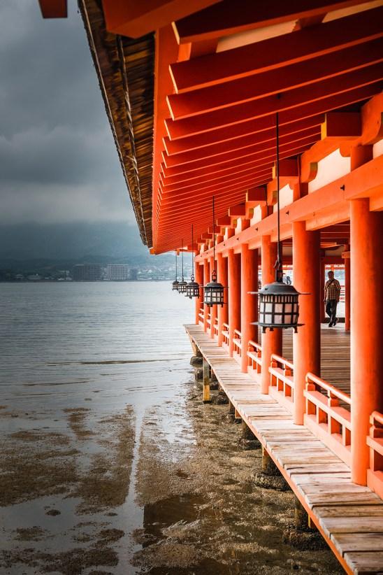 Itsukushima Shrine, Miyajima island, Hiroshima Bay