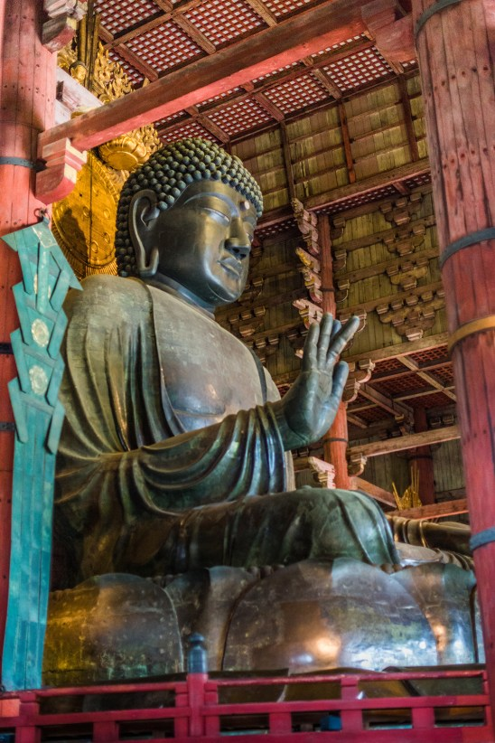 The greatest Buddha (Siddhārtha Gautama) of Nara